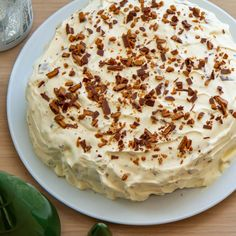 Verdens beste daimiskake Camembert Cheese, Nom Nom, Pudding, Favorite Recipes, Baking, Desserts, Food, Eat, Drinks