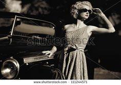 Woman Vintage Fotos, imágenes y retratos en stock | Shutterstock