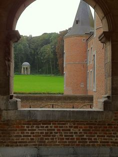 A view from Alden Biesen Castle, Bilzen Belgium