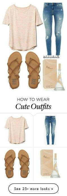 featuring Gap, Billabong, Ted Baker, fabulous and glamorous Fashion Mode, Teen Fashion, Fashion Outfits, Fashion Trends, Fashion Shops, Beige Outfit, School Outfits For Teen Girls, Simple Outfits For Teens, Cute Highschool Outfits