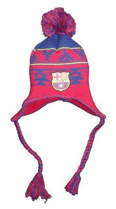 0ffcdfc6553 FC Barcelona Peruvian Beanie (Maroon Navy)