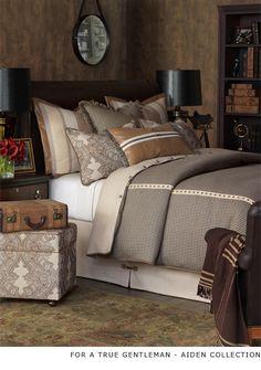 Luxury Bedding by Eastern Accents  @ bbinteriordesigns.com 630-262-9400