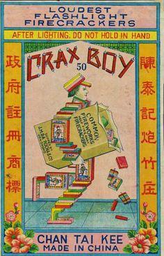 Crax Boy Firecrackers