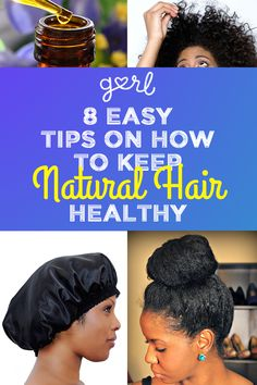 8 Easy Tips On How To Keep Natural Hair Healthy Lazy Girls Will Love: au natural : natural hair : hair : afro : love thy fro : protective styles : Natural Hair Care Tips, Natural Hair Journey, Natural Hair Styles, How To Grow Natural Hair, Going Natural, Natural Beauty, My Hairstyle, Afro Hairstyles, Latest Hairstyles