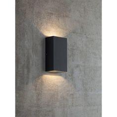 VÄGGLAMPA NORDLUX ROLD KUB LED SVART IP44 - Vägglampa utomhus - Utomhusbelysning - Belysning