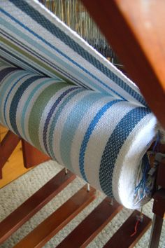 """My ongoing """"Weaving a Life"""" diary Tablet Weaving, Loom Weaving, Hand Weaving, Weaving Textiles, Weaving Patterns, Christmas Towels, How To Make Rope, Weaving Projects, Tear"""