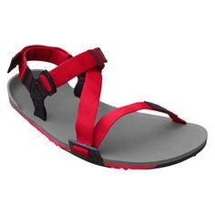 Xero Shoes Umara Z-Trail Charcoal/Red Pepper