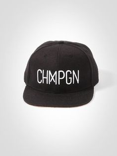 / Snapback CHMPGN / http://www.unicity-clothing.com/chmpgn/39-chmpgn-snap.html
