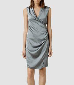 Women's Arina Dress (DARK WAVE) -