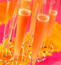 Pink & Orange - Mango Bellini - 2 pts