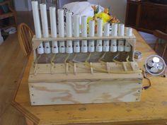 DIY PVC pipe organ :)