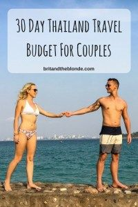 30 Day Thailand Travel Budget For Couples After having a base for 1 year in Australia we planned to do a 6 month South East Asia trip with the first country being Thailand. We knew we had to create… Backpacking Packing List, Packing List For Travel, New Travel, Travel Goals, Travel Advice, Asia Travel, Budget Travel, Travel Articles, Travel Ideas