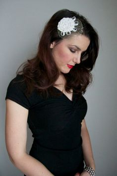 Etsy: handmade one-of-a-kind hair fascinators! So unique and stylish!