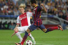 Las imágenes del Barça-Ajax