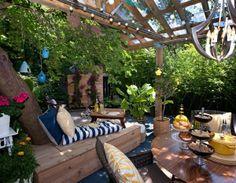 Indoor Komfort außerhalb zu bringen-Ideen für Ihren Garten