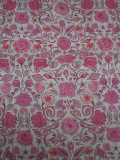 """LIBERTY OF LONDON PRINTS CRAFT FABRIC REMNANT """"PENROSE"""" 31 X 22 CM,TANA LAWN in Crafts, Sewing & Fabric, Fabric 