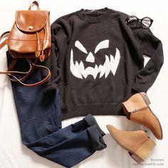 tenue pour Halloween  sinon, opter pour un déguisement !