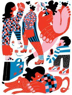 An update from ace Dutch illustrator Eline Van Dam, aka Zeloot (Read more)