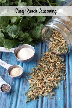 Easy Ranch Seasoning Recipe by Plaid and Paleo. You can use this for way more than just ranch dressing!
