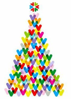 Christmas Tree--could do with childrens fingerprints