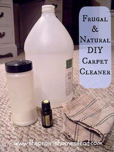 Natural Homemade Carpet Cleaner   The Prairie Homestead.