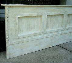 Wall Mount King Size Headboard Rustic Display by TheSavvyShopper1, $295.00