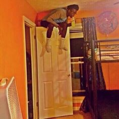 When you try to kill a spider but you miss and can't find it