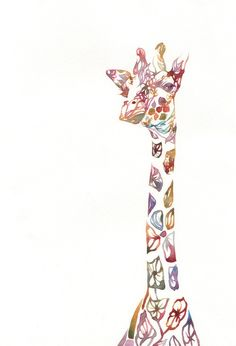 giraffe (this would be a cool tattoo)