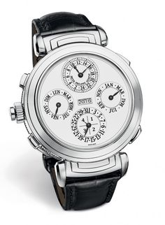 Patek Philippe Grandmaster Chime Ref. 6300 - white dial - front