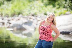 Taylor's senior portrait in Spokane