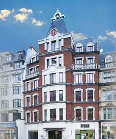 Strand: This landmark building houses stunning office space on the Strand in London. #monopoly #London #strand