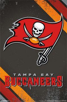 ff8127679c304 Tampa Bay Buccaneers - Logo 14 Poster Print (22 x 34) - Item