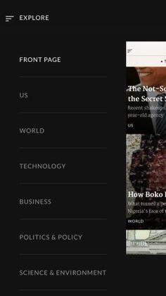 Timeline - News in Context Screenshots