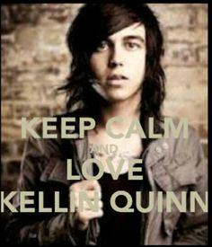 Kellin Quinn aka vocalist of Sleeping With Sirens