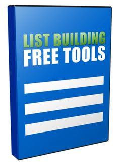Free List Building Tools Unrestricted PLR Videos - http://www.buyqualityplr.com/plr-store/free-list-building-tools-unrestricted-plr-videos/.  Free List Building Tools Unrestricted PLR Videos #ListBuilding #ListBuildingTools #ListBuildingPLRVideos #ListBuildingVideos  Learn How to Build Your Online Business Empire Using these Free Email Marketing Tools! The money is in the list. This is what you always heard from successful....