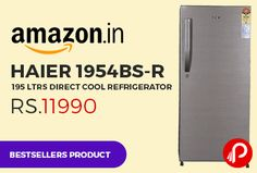 amazon is offering 20 off on haier 1954bsr 195 ltrs direct