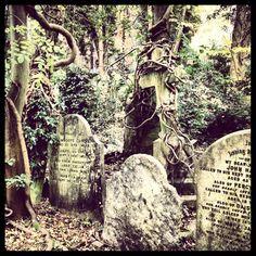 Highgate Cemetery in Highgate, Greater London