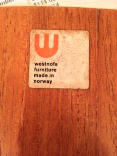 Westnofa norway mid century furniture Westnofa isn't actually a manufacturer. They only imported furniture for Norwegian manufacturers. Lots of furniture dealers in America don't seem to know this. Mcm Furniture, Furniture Making, Bedroom Furniture, Furniture Design, Swedish Interiors, Scandinavian Furniture, Mid Century Modern Furniture, Bedroom Sets, Makers Mark