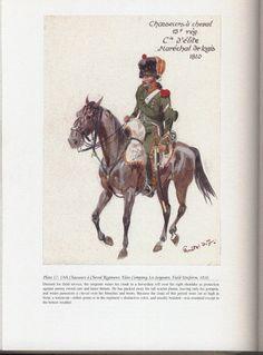 Chasseurs à Cheval Regiment: Plate 17