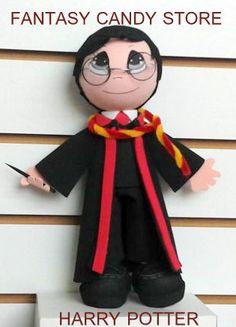 Mi version de Harry Potter en fomi o Goma EVA...