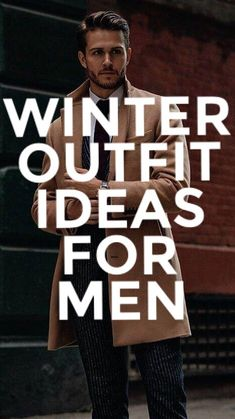 Coolest Winter Outfit Ideas For Men. Look Sharp This Winter. #mensfashion #fallfashion