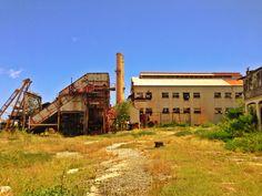 Ruins of Central de Aguirre, Salinas, Puerto Rico