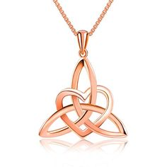 Sterling silver necklace featuring Heart-shaped pendant decorated with elaborate Celtic knot design   Harmony Jewelry Company: A famous jewelry brand Four jewelry chain stores in Hongkong. Best servic...