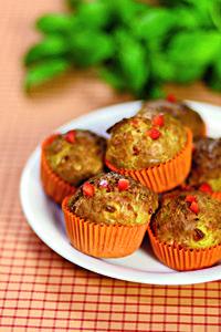Suolaiset aamiaismuffinit #feta #paprika | Reseptit | Valintatalo