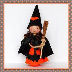 Peg Doll Halloween. £24.00, via Etsy.
