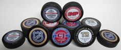 We specialize in creating custom hockey puck wedding favors printed in limited production runs for our customers.  Order some for your hockey themed wedding today at www.sportsthemedweddings.com