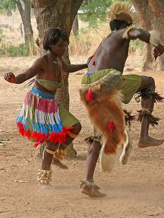 Togo - West African Tribal Dance by themanwithsalthair, via Flickr