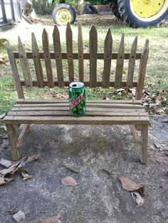 Tobacco stick bench. Ginger Claypool                                                                                                                                                      More
