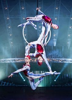 Cirque du soleil. As many different performances as possible