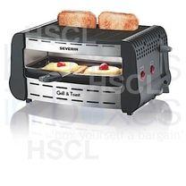 Grill & Toaster: S/Steel: Severin